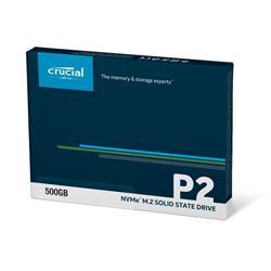 Crucial SSD 500GB P2 M.2 3D NAND NVMe PCIe