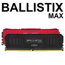 Ballistix MAX Black DIMM 2x8(16GB Kit) DDR4 4000Mhz