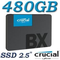 Crucial SSD 480GB BX500 3D NAND SATA 2.5