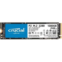 Crucial SSD 1000GB P2 M.2 3D NAND NVMe PCIe