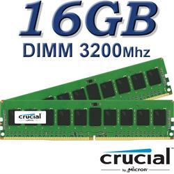 Crucial DIMM 16GB DDR4 3200Mhz