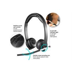 אוזניות אלחוטיות Logitech H820e לוגיטק