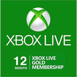 XBOX LIVE GOLD – 12 Months